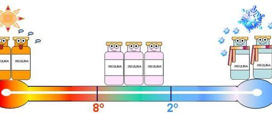 Como manter a insulina em bom estado?