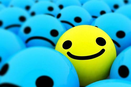 sorrir ou chorar?