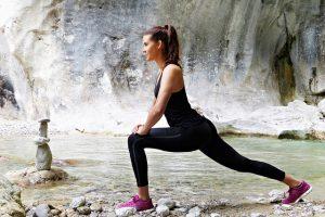 Mulher fazendo atividade fisica