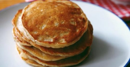 Receita de panqueca doce diet com geleia diet