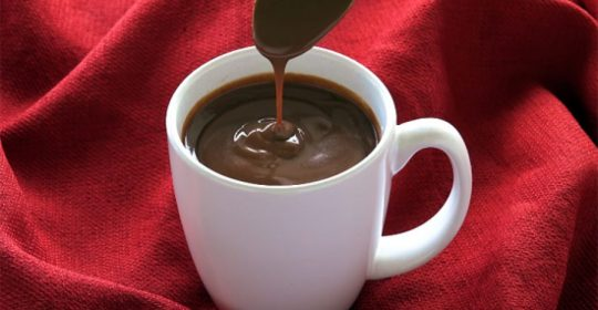 CHOCOLATE QUENTE CREMOSO DIET